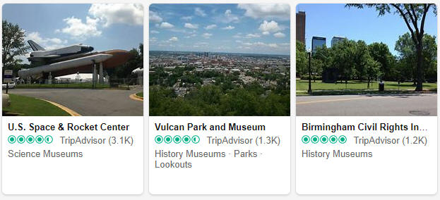 Museums and exhibitions in Alabama