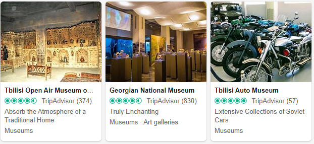 Museums and exhibitions in Georgia
