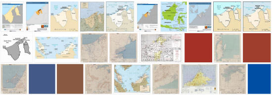 Maps of Brunei