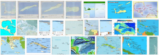 Maps of Cayman Islands