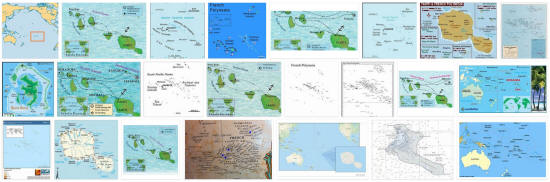 Maps of French Polynesia