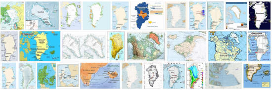 Maps of Greenland