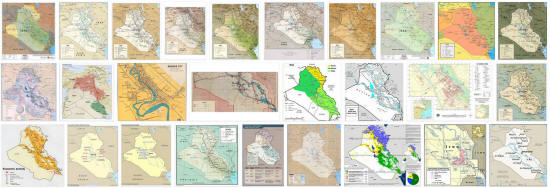 Maps of Iraq
