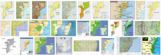 Maps of Mozambique