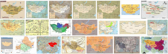 Maps of Mongolia