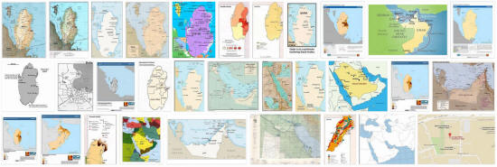 Maps of Qatar