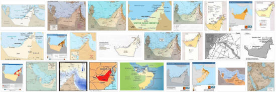 Maps of United Arab Emirates