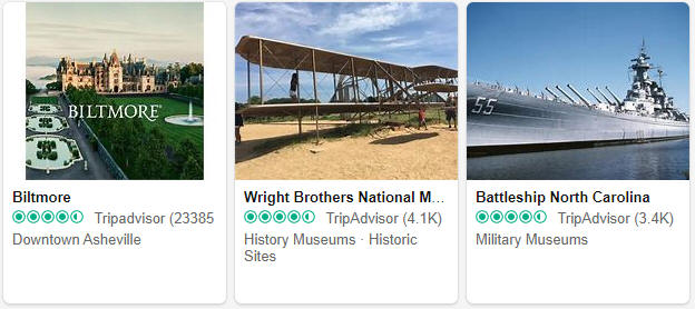 Museums and exhibitions in North Carolina