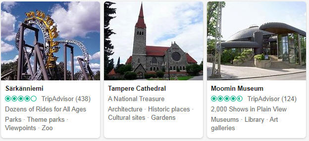 Attractions in Tampere