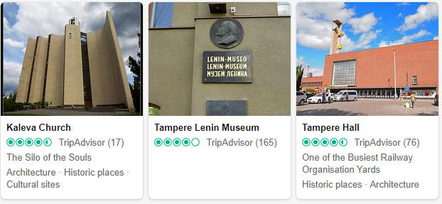 Tampere Attractions and Tourist