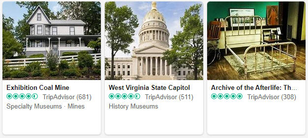 Museums and exhibitions in West Virginia