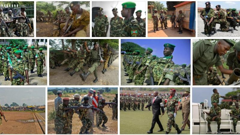 Burundi Justice, Security and Military