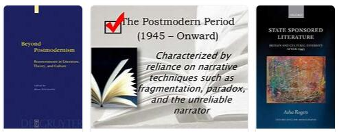 English Literature after 1945 and Postmodernism Part I