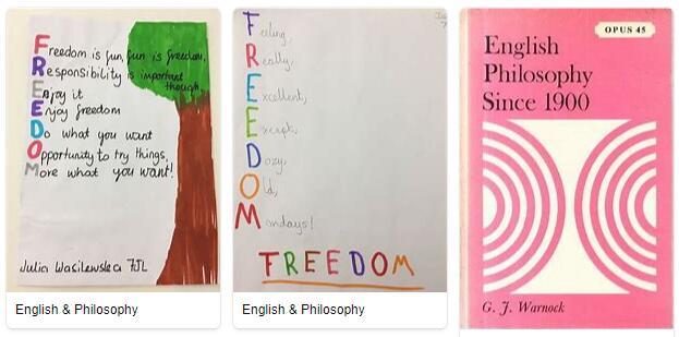 English Philosophy Part I